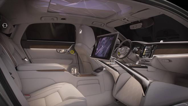 Thị trường xe - Khám phá bên trong 'xế lạ' Volvo S90 Ambience Concept chỉ có 3 chỗ ngồi (Hình 2).
