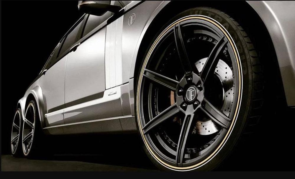 Thú chơi xe - Tròn mắt với Range Rover độ siêu bán tải 6 bánh cho giới siêu giàu (Hình 2).