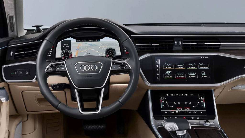 Thị trường xe - Audi A6 2019 có gì nổi bật trước 'Mẹc' E, BMW Series 5? (Hình 3).