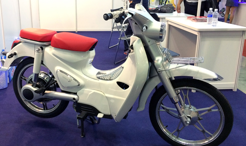 Thị trường xe - Xe máy điện nhái biểu tượng 'xấu lạ' Honda EV-Cub xuất hiện tại Việt Nam