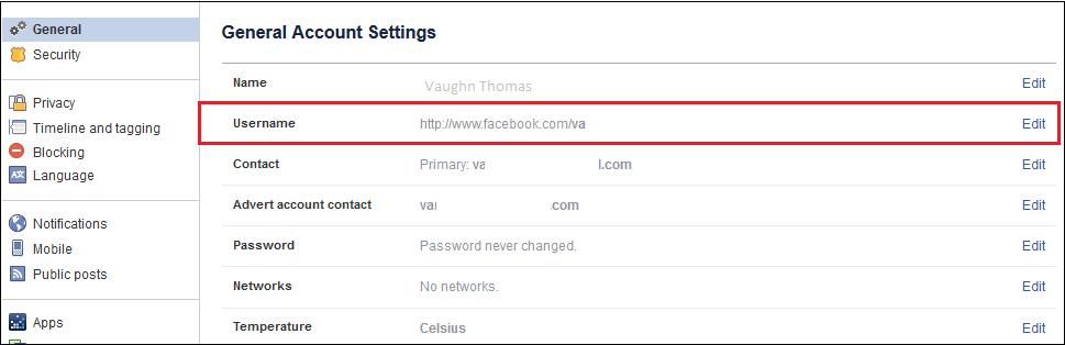 Công nghệ - Cách tạo địa chỉ URL thân thiện cho Facebook