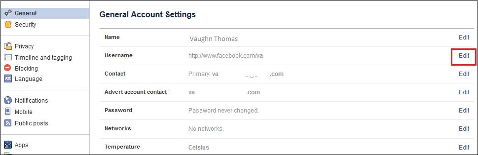 Công nghệ - Cách tạo địa chỉ URL thân thiện cho Facebook (Hình 2).