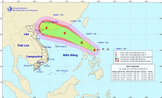 Chính trị - Xã hội - Áp thấp vừa tan, bão mới lại xuất hiện ở Biển Đông