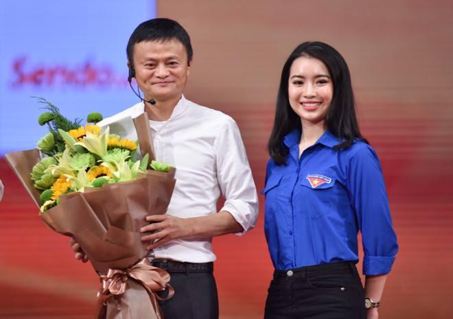Giáo dục - Nữ MC trong buổi giao lưu với Jack Ma là ai?
