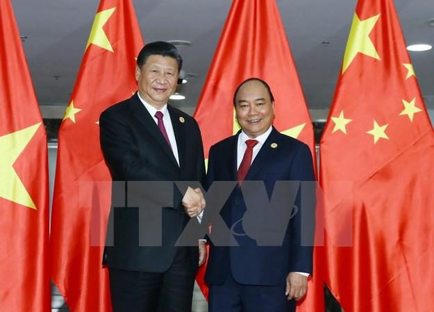 Tin tức - Chính trị - Thủ tướng Nguyễn Xuân Phúc hội kiến Tổng Bí thư, Chủ tịch Trung Quốc