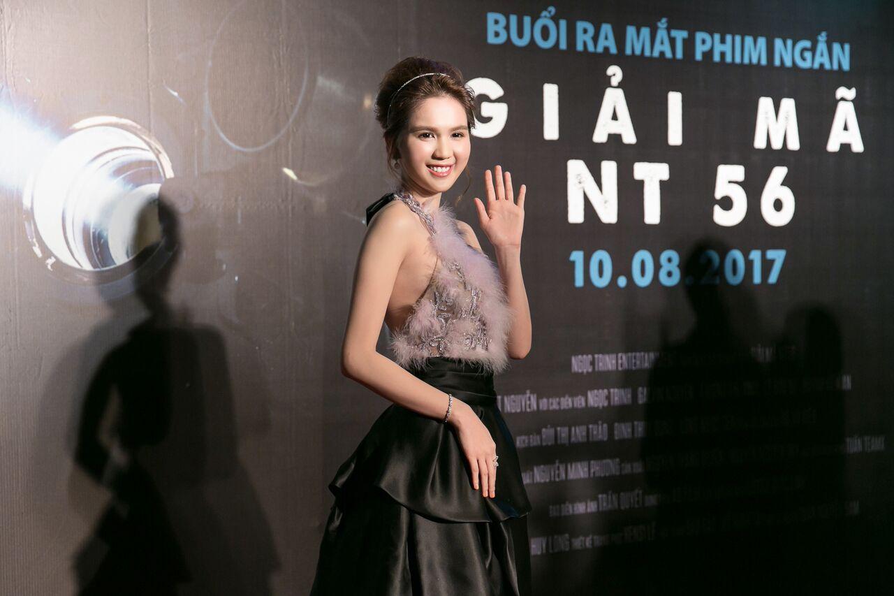 """Giải trí - Ngọc Trinh trở thành đả nữ trong phim """"Giải mã NT56"""""""