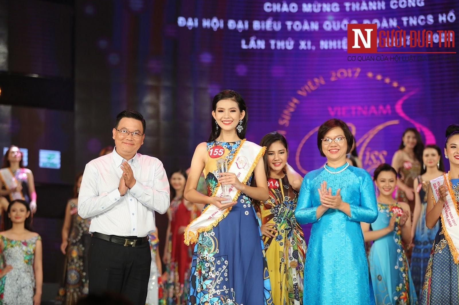 Hoa khôi Sinh viên Việt Nam 2017: Tôi chiến thắng nhờ chiều cao và may mắn - Hình 3