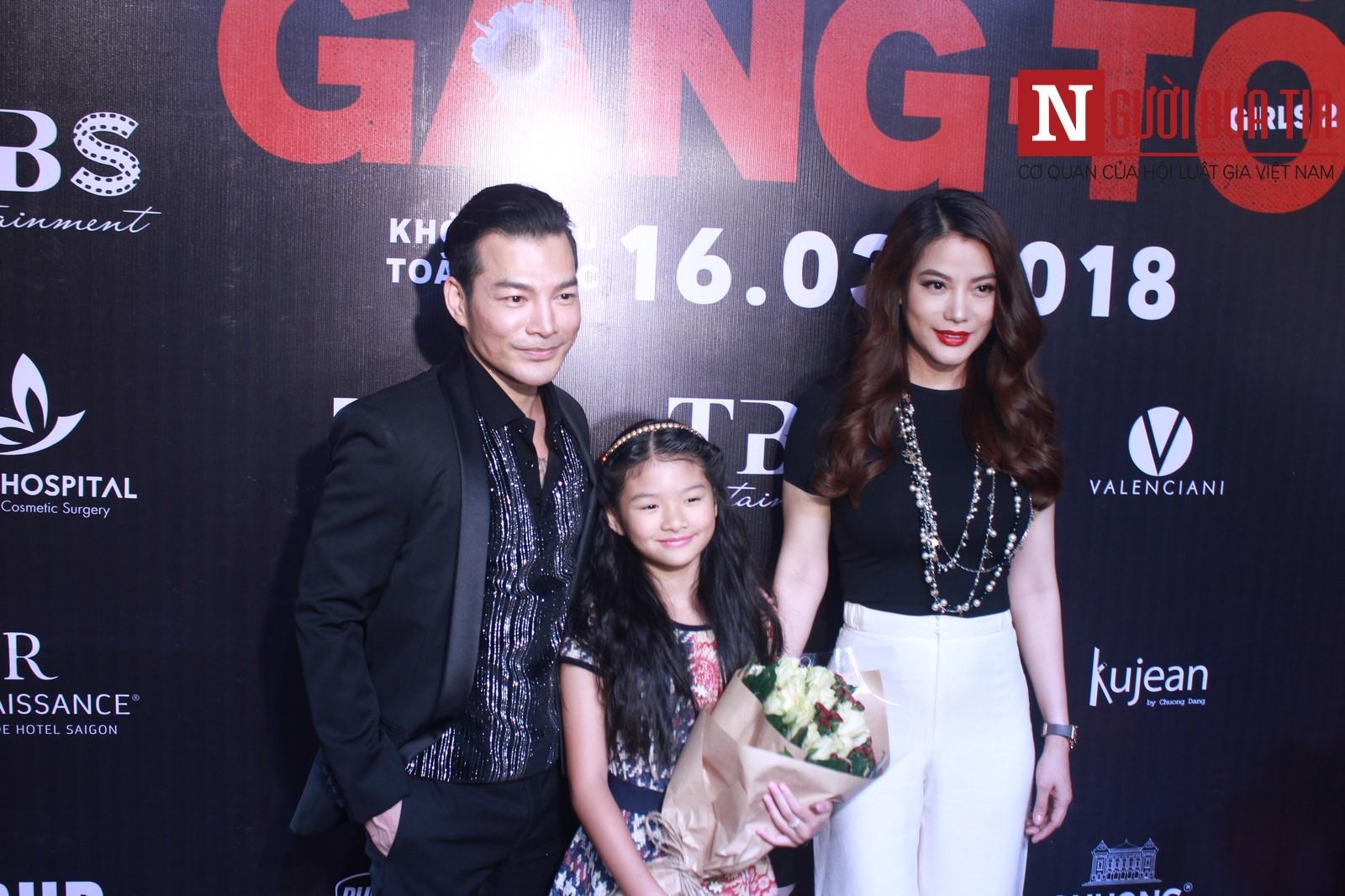 Trần Bảo Sơn hội ngộ Trương Ngọc Ánh và con gái khi ra mắt phim - Hình 1