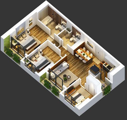 Bất động sản - Loggia Anland - Điểm cộng trong thiết kế xanh (Hình 3).