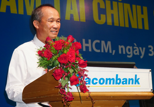 """Tài chính - Ngân hàng - """"Chủ soái"""" Dương Công Minh chi 225 tỷ gom cổ phiếu Sacombank"""