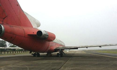 Tiêu dùng & Dư luận - Máy bay Boeing bị bỏ quên ở Nội Bài 10 năm: Xin về cho… sinh viên học (Hình 2).