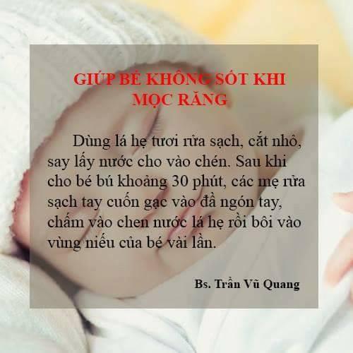 Các bệnh - 7 bài thuốc dân gian cực dễ làm tốt cho trẻ của bác sĩ sản khoa (Hình 6).