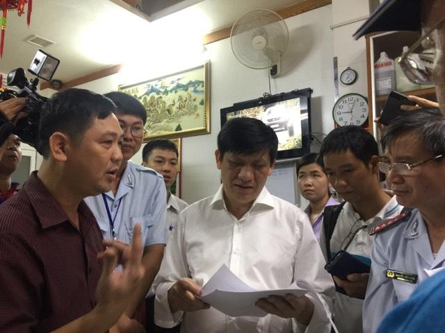 Xã hội - Bộ Y tế kiểm tra đột xuất chợ hóa chất Kim Biên (Hình 2).