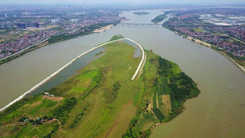 Xã hội - 'Nhiều tỉnh nguy hiểm nếu Hà Nội lùi đê sông Hồng'