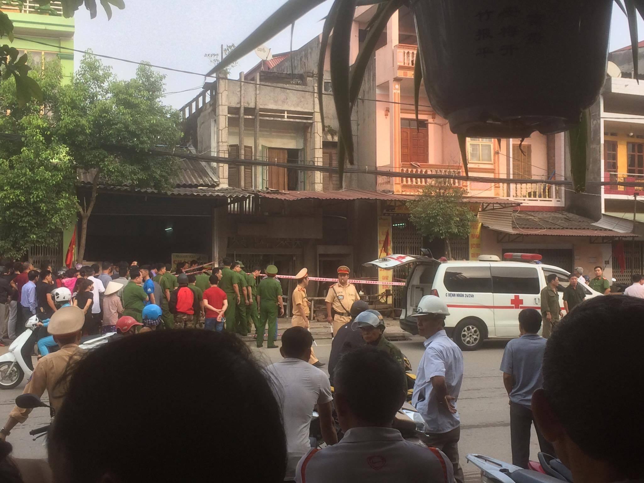 An ninh - Hình sự - Thông tin mới nhất về vụ nổ khiến 1 người tử vong ở Thái Nguyên