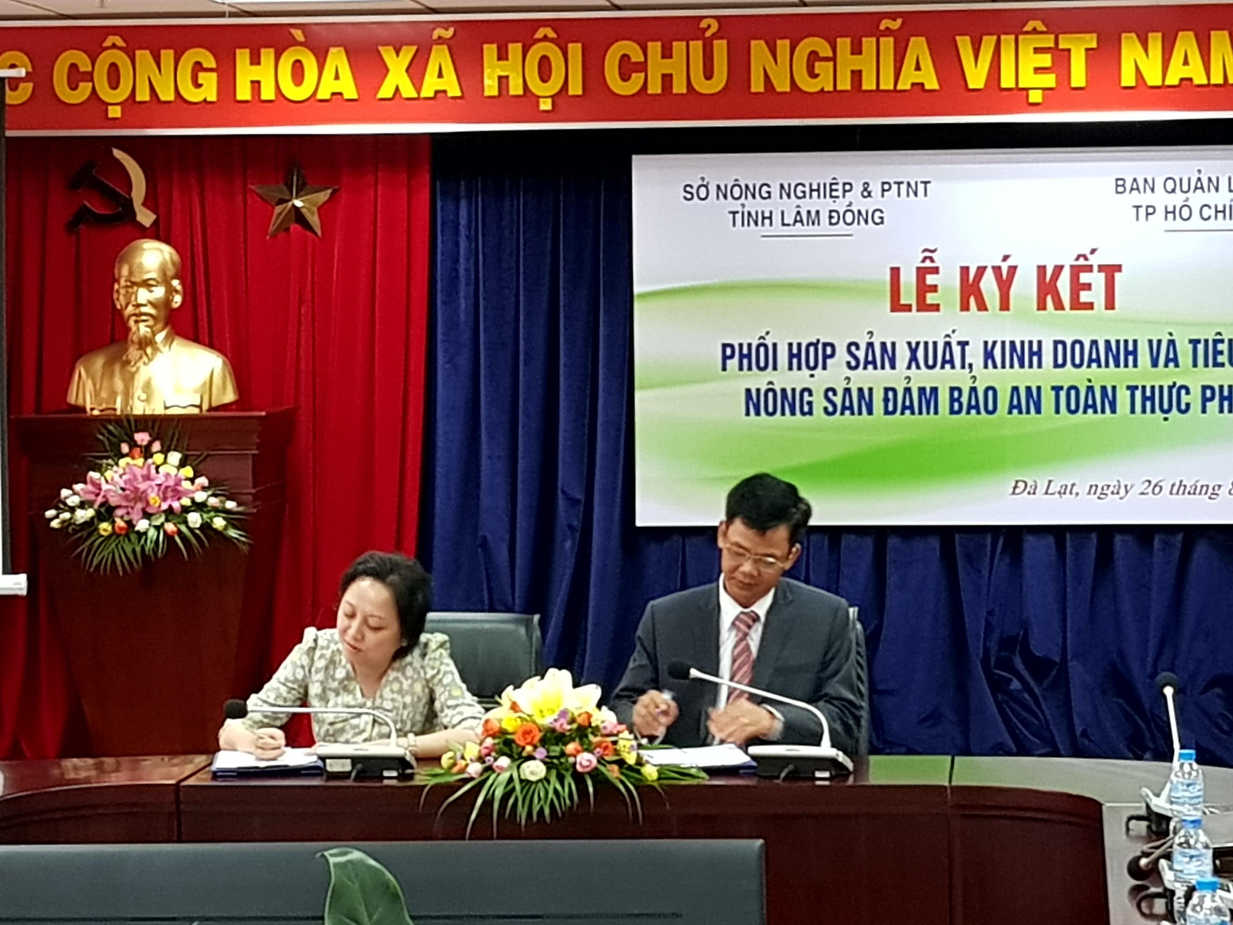 Chính trị - Xã hội - TP.HCM - Lâm Đồng 'bắt tay' sản xuất, tiêu thụ nông sản sạch