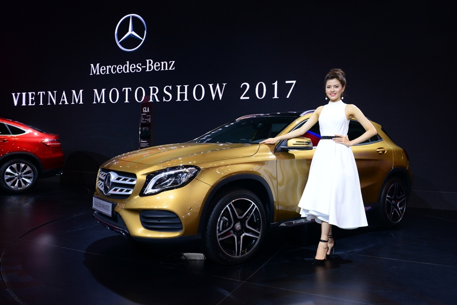 Xe++ - Mercedes-Benz mang dàn xe sang 60 tỷ đồng đến VMS 2017 (Hình 6).