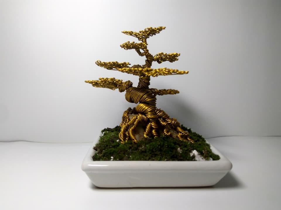 """Nam sinh """"hốt bạc"""" nhờ bán cây bonsai bằng đồng trong dịp Tết - Hình 4"""