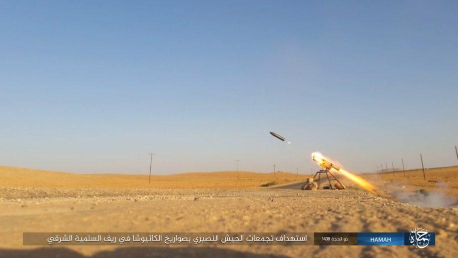 Thế giới - Dù bị tấn công vào đoàn tăng ở phía Đông Hama, SAA vẫn tiêu diệt hàng trăm kẻ khủng bố (Hình 7).