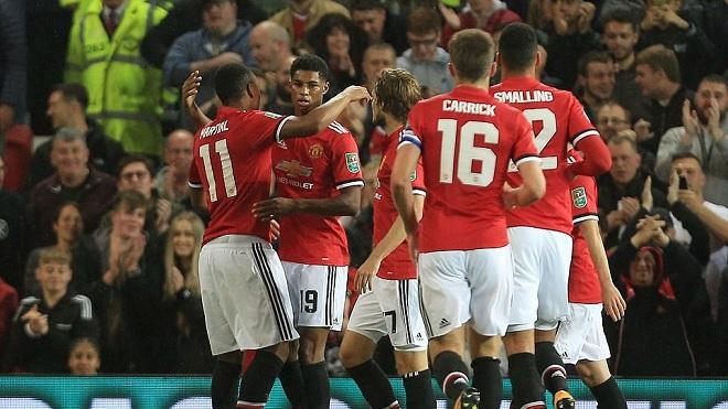 Thể thao - Man Utd 4-1 Burton: Martial mới là người xuất sắc nhất