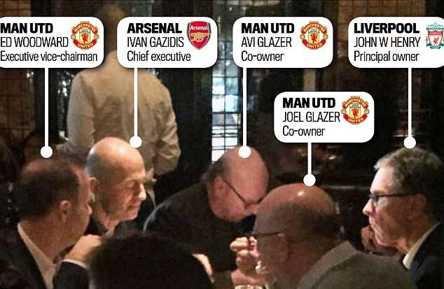 Bóng đá Quốc tế - Sếp lớn tụ họp, đại gia Ngoại hạng Anh bàn chuyện tương lai