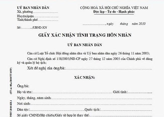Góc nhìn luật gia - Xin xác nhận tình trạng hôn nhân ở đâu?