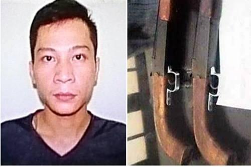 Pháp luật - Hà Nội: Đối tượng truy nã toàn quốc, luôn 'thủ' súng trong người ra đầu thú