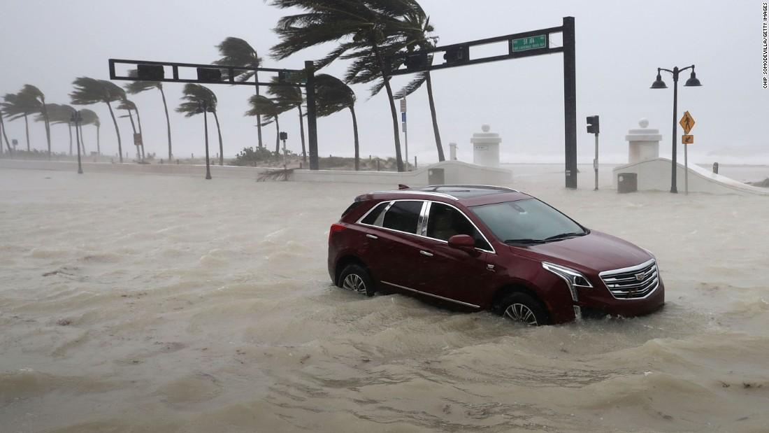 Tiêu điểm - Nóng ngày 11/9: Cơn bão 'quái vật khổng lồ' Irma tàn phá Florida, Mỹ