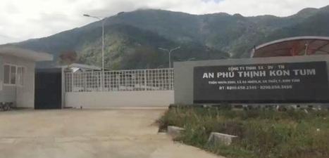 Điểm nóng - Kon Tum: Nhà máy chế biến mủ cao su APT vận hành thử nghiệm 'chui'