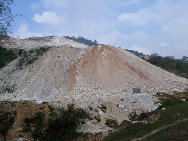 Điểm nóng - Nghệ An: Mỏ đá Thung Mây vô tư tàn phá môi trường? (Hình 3).