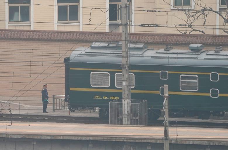 Tiêu điểm - Hình ảnh hiếm về đoàn tàu và chuyến thăm Trung Quốc của ông Kim Jong-un (Hình 7).