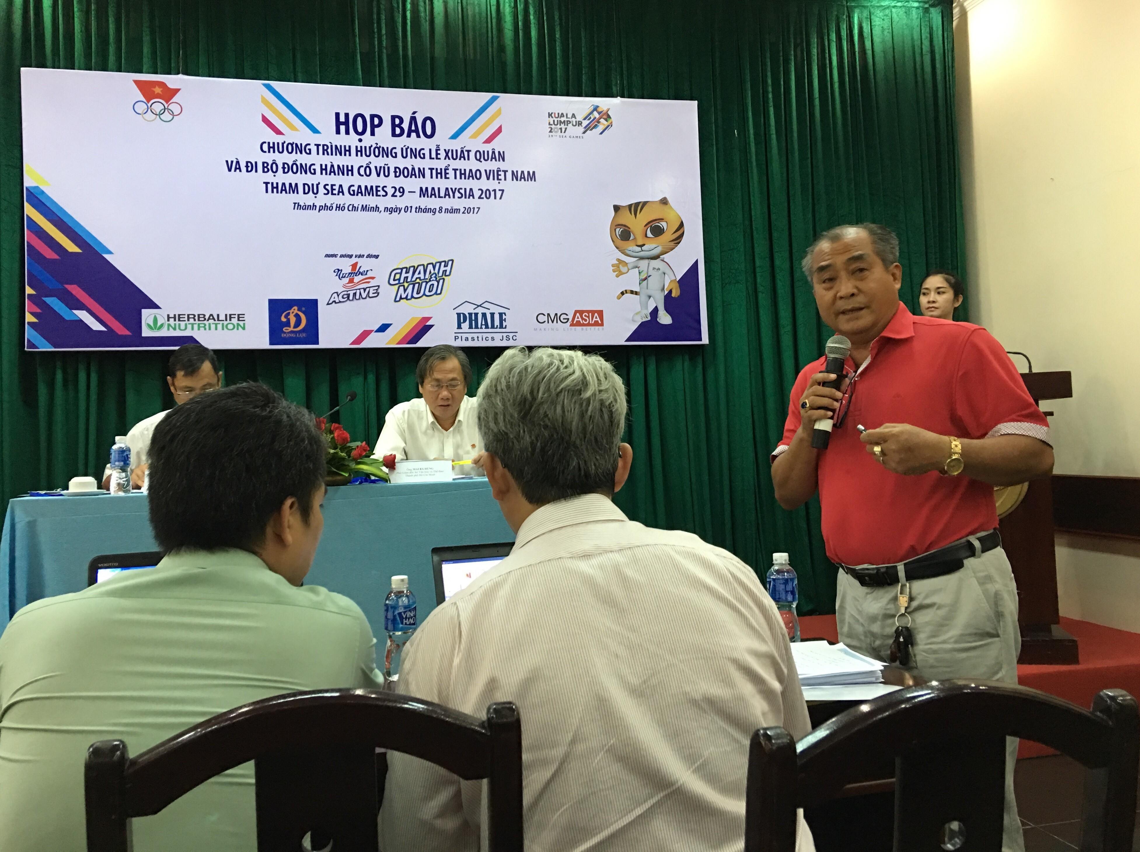 Chính trị - Xã hội - Tân Hiệp Phát tiếp tục đồng hành cùng chương trình đi bộ hưởng ứng lễ xuất quân cổ vũ đoàn thể thao Việt Nam tham sự SEA Games 29