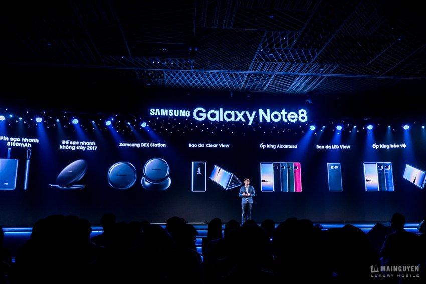 Công nghệ - Samsung chính thức ra mắt Galaxy Note 8 tại Việt Nam, giá 22,5 triệu đồng (Hình 3).