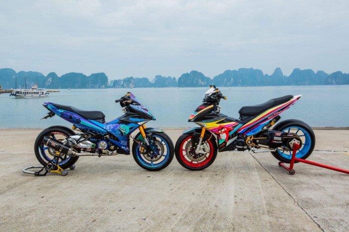 Xe++ - Yamaha Exciter 2009 biển độc, độ khủng của biker Hạ Long (Hình 9).
