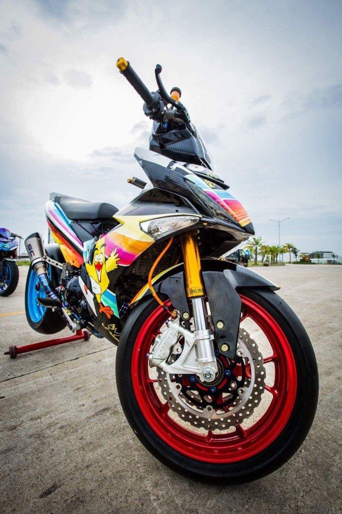 Xe++ - Yamaha Exciter 2009 biển độc, độ khủng của biker Hạ Long (Hình 4).