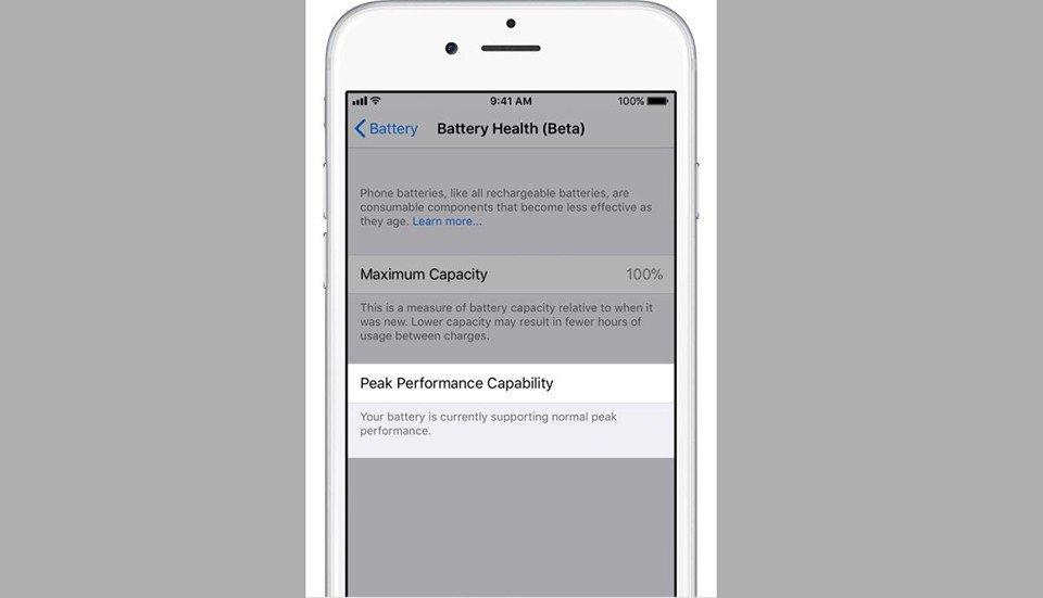 Thủ thuật - Tiện ích - Cách tắt tính năng làm chậm iPhone trên iOS 11.3 Beta 2 (Hình 3).