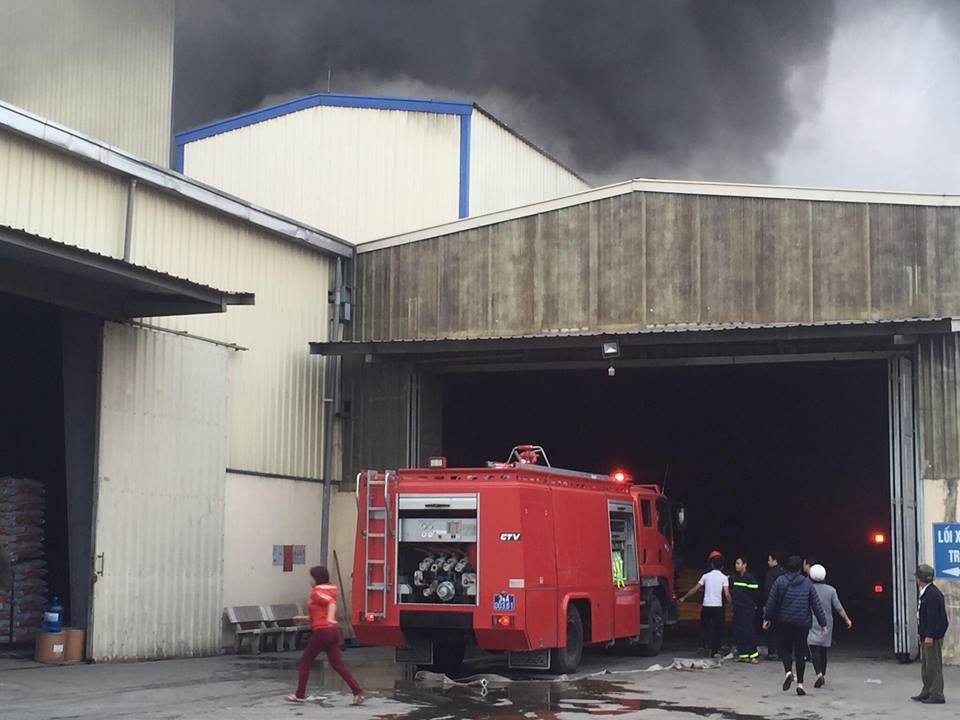 Tin nhanh - Hải Dương: Cháy lớn tại nhà máy thức ăn chăn nuôi (Hình 2).
