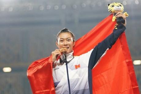 """Thể thao - """"Nữ hoàng tốc độ"""" Tú Chinh chuẩn bị cho Asian Cup Indoor Games (Hình 2)."""