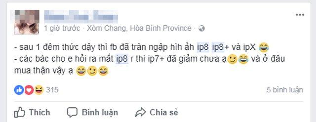 Cộng đồng mạng - Bi hài quanh chuyện sở hữu iPhone 8 của người dùng Việt