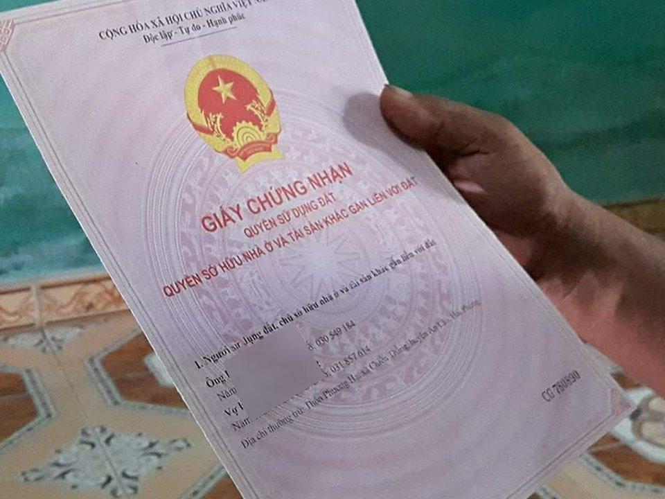 Xã hội - Cán bộ địa chính xã lập khống hồ sơ, nhận gần 90 triệu làm 'sổ đỏ'