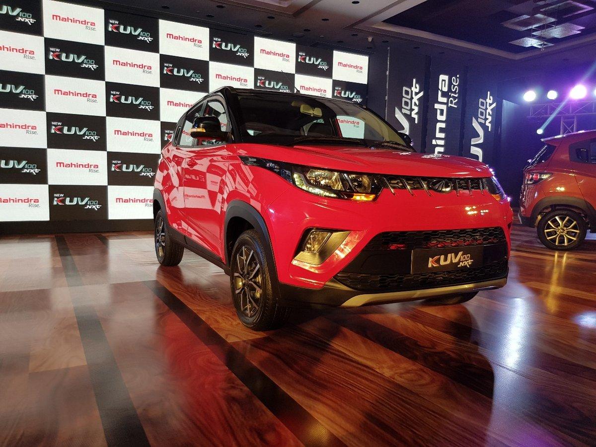 Xe++ - Mahindra KUV100 NXT – SUV siêu nhỏ, giá siêu rẻ 152,5 triệu đồng