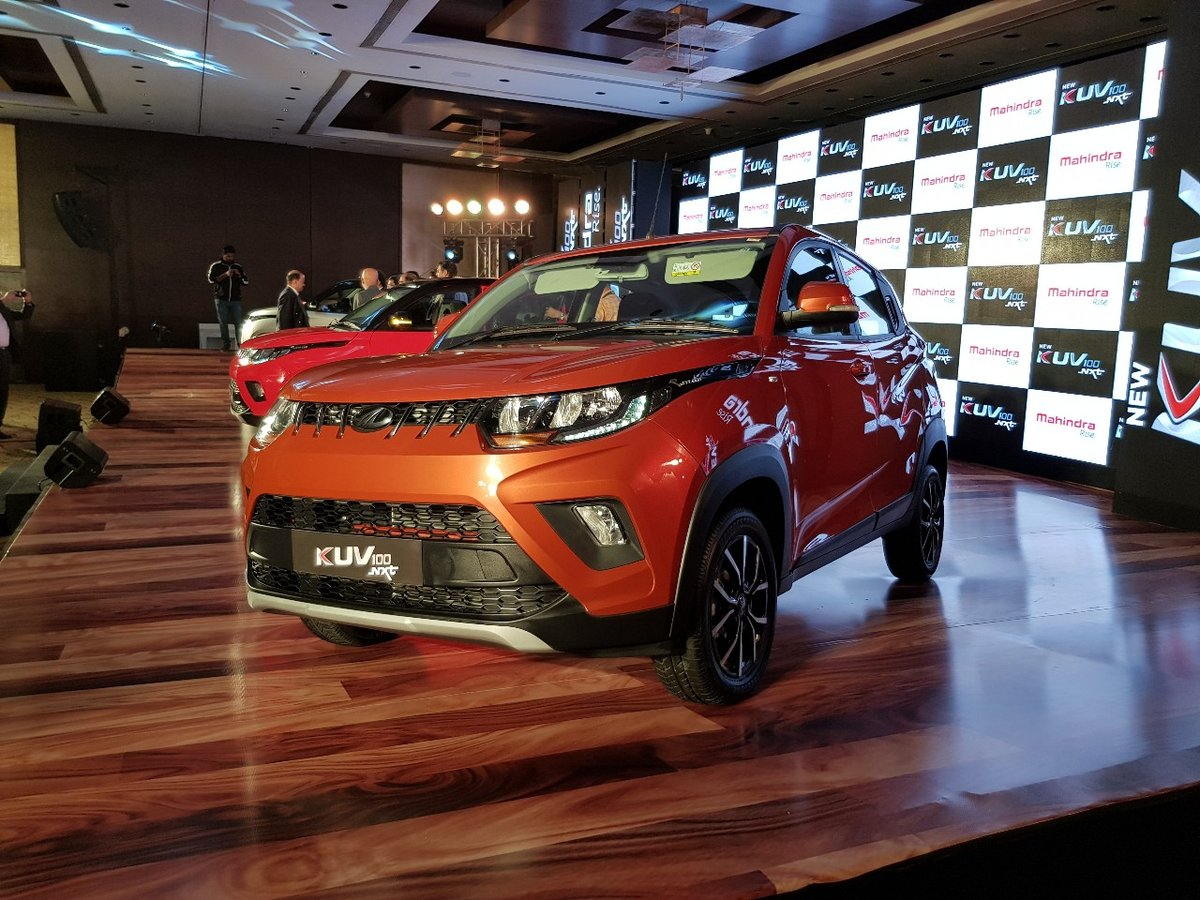 Xe++ - Mahindra KUV100 NXT – SUV siêu nhỏ, giá siêu rẻ 152,5 triệu đồng (Hình 2).