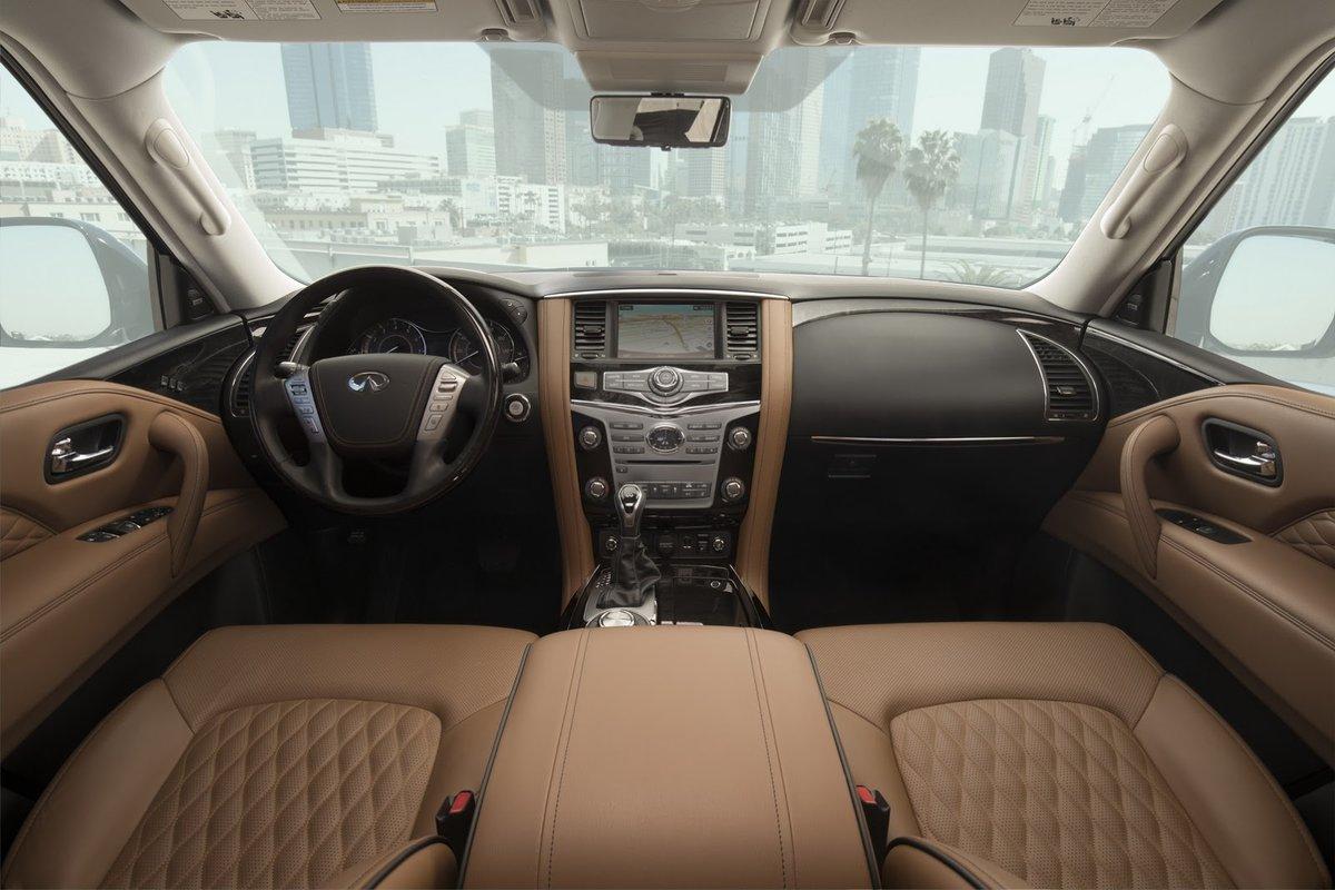 Xe++ - SUV hạng sang Infiniti QX80 2018 công bố giá bán (Hình 8).