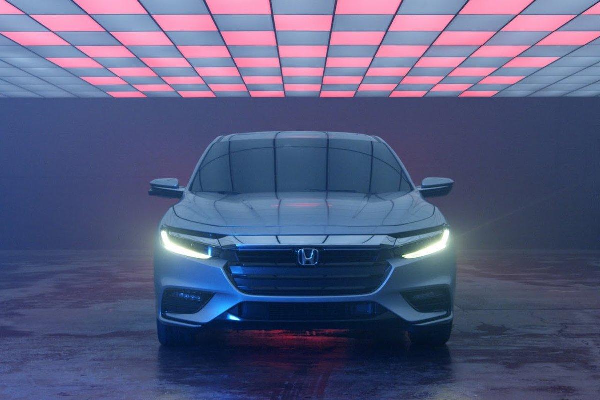 Xe++ - Xem trước hình ảnh tuyệt đẹp của Honda Insight 2019