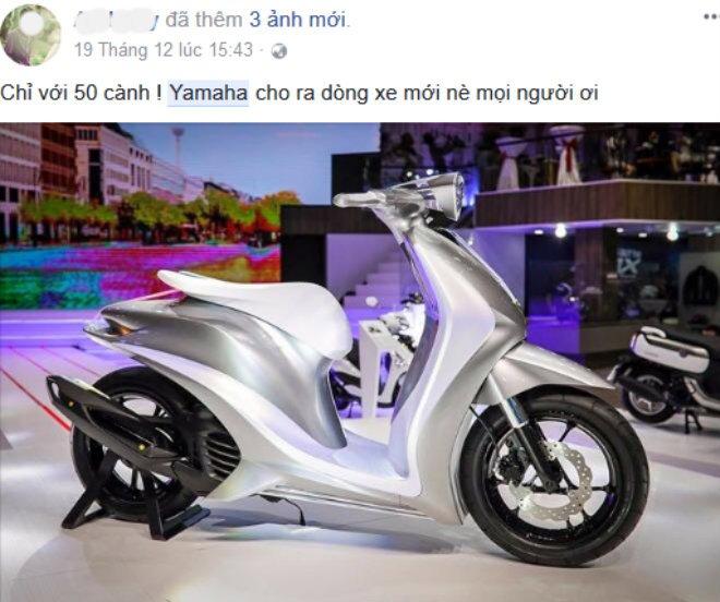 """Xe++ - Yamaha Glorious giá 50 triệu đồng chỉ là """"tin vịt"""" (Hình 2)."""