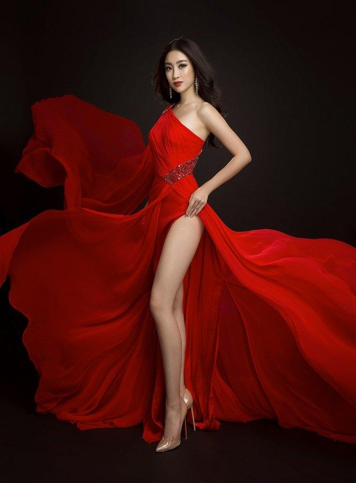 Ngôi sao - Những bộ cánh lộng lẫy của Mỹ Linh tại Hoa hậu Thế giới 2017 (Hình 4).