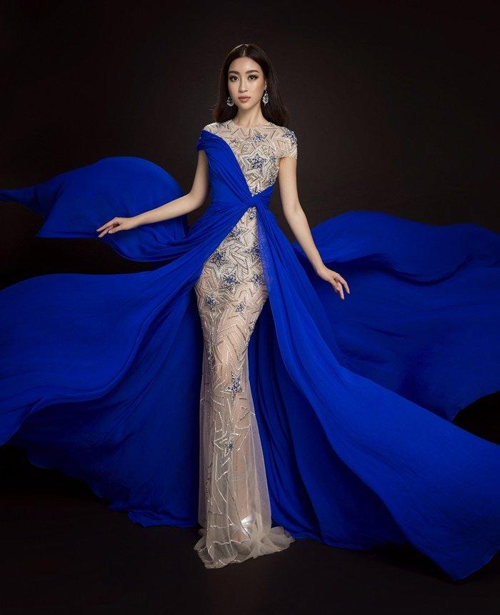 Ngôi sao - Những bộ cánh lộng lẫy của Mỹ Linh tại Hoa hậu Thế giới 2017 (Hình 8).