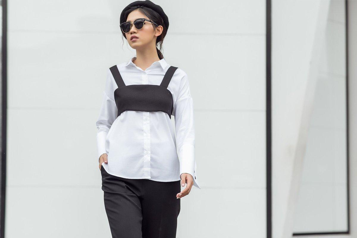Ngôi sao - Á hậu Thanh Tú chất lừ trong bộ ảnh thời trang mới nhất