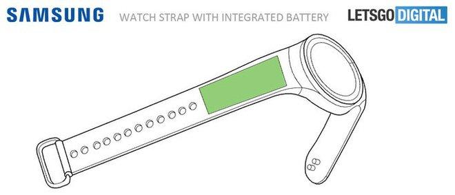 Sản phẩm - Đồng hồ Gear S4 của Samsung có pin nằm ở dây đeo?