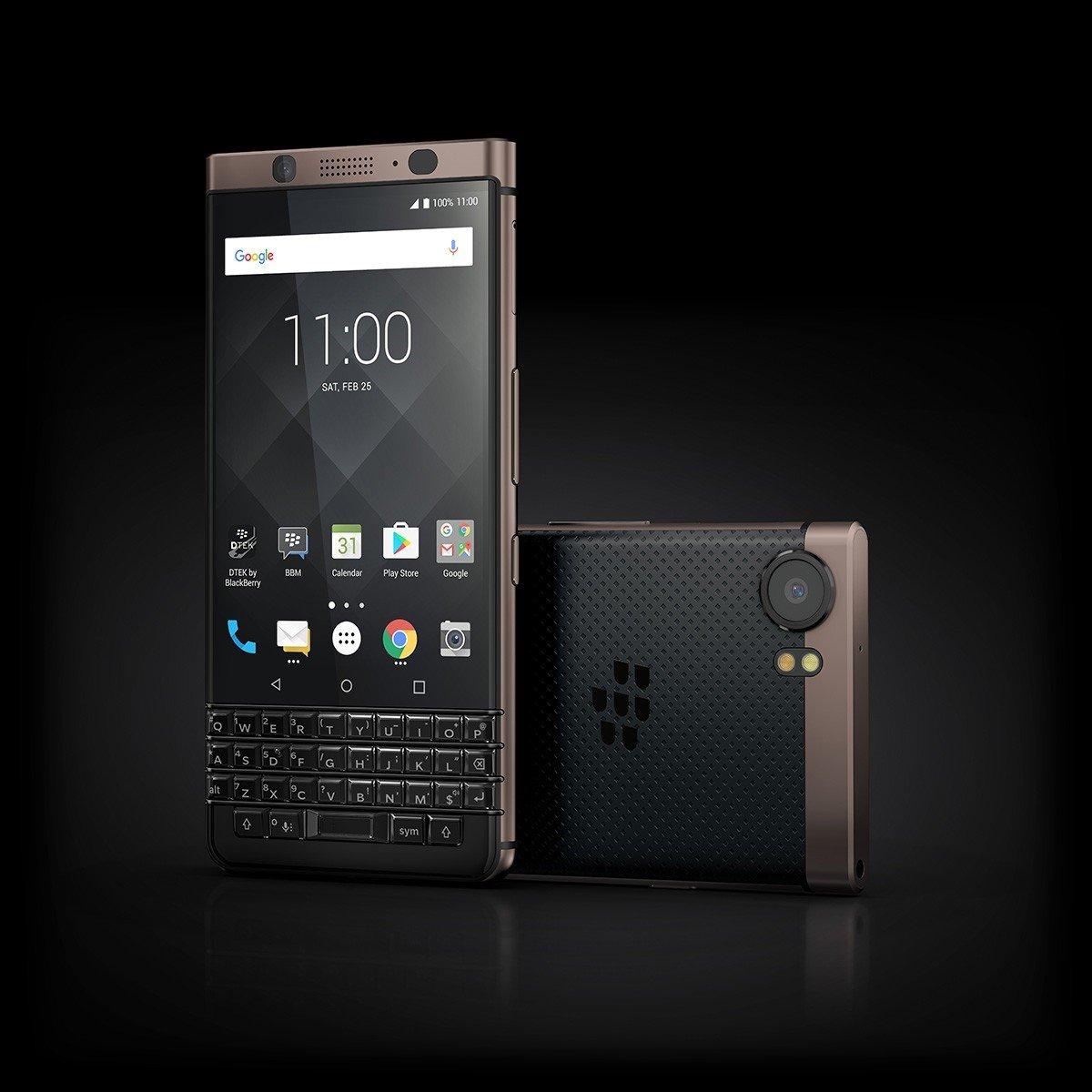 Sản phẩm - BlackBerry KEYone bất ngờ thêm phiên bản màu đồng